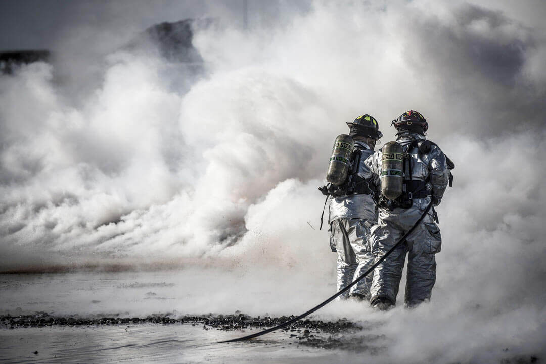 What is fireproofing spray?
